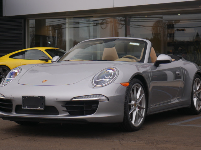 certified pre-owned 2016 porsche 911 carrera 4s convertible in