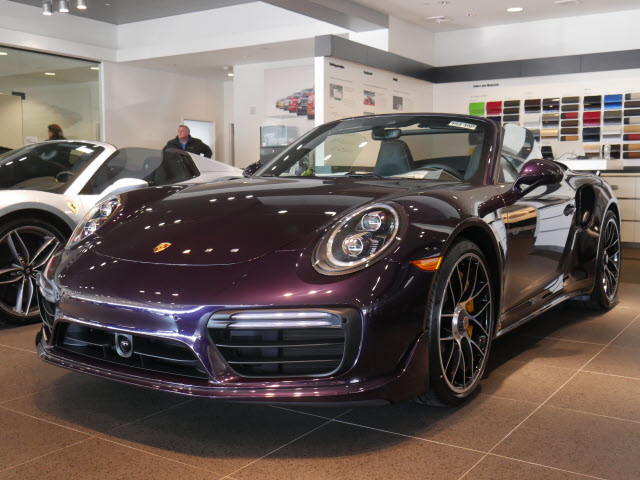 new 2019 porsche 911 turbo s convertible in huntington station