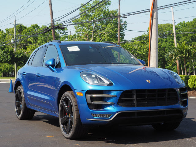 New 2017 Porsche Macan Turbo